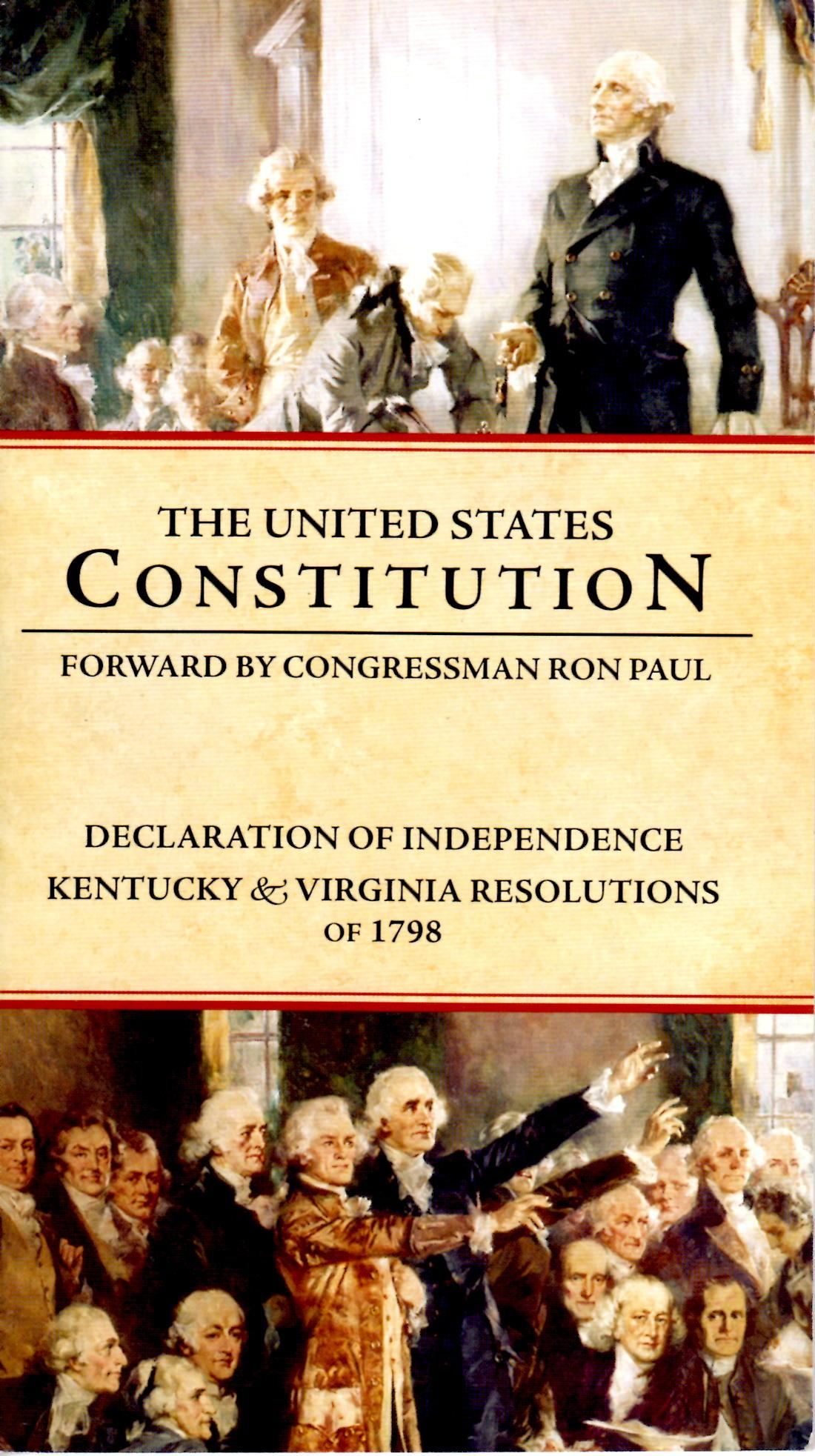 an introduction to the history of the united states constitution The constitution of the united states of america is the supreme law of the united  states empowered with the sovereign authority of the people by the frame.
