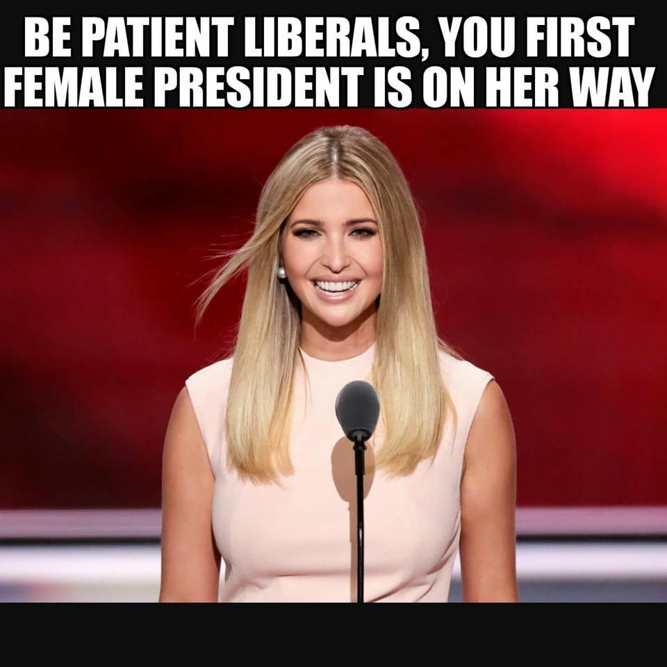FirstFemalePresidentOnTheWay